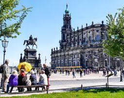Altstadtfuehrung in Dresden fuer 2