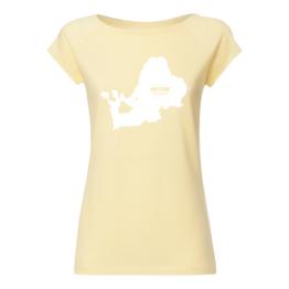 Chiemsee Motiv Cap Sleeve Vanilla Shirt