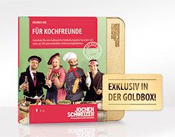 Erlebnis-Box 'Fuer Kochfreunde'