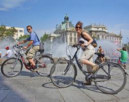 Sightseeing-Radtour in Muenchen