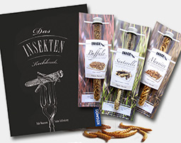 Snack Insects Kochset fuer Zuhause