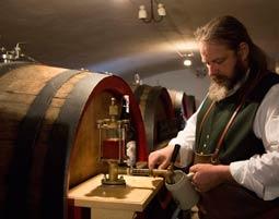 Traditionelle Bierverkostung im Markus Wasmeier Freilichtmuseum