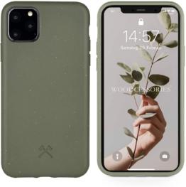 Woodcessories - Bio Case kompatibel mit iPhone 11 Pro - Nachhaltig, biologisch abbaubar - BioCase Grün