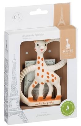 Beissring Weich So`Pure Sophie la Girafe im weißen Geschenkkarton