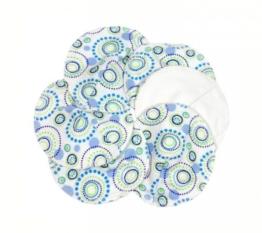 Waschbare Stilleinlagen aus Bio-Baumwolle, Motiv Orbit, 3er Pack