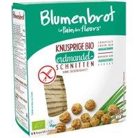 Blumenbrot Erdmandel: Nussiges Bio Knusperbrot glutenfrei