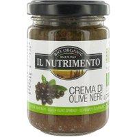 Brotaufstrich mit schwarzen Oliven und rein pflanzlich