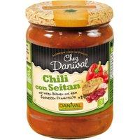 Danival Chili con Seitan - scharfes Bio Chili non Carne im 525g Glas