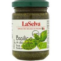 LaSelva Basilikum in Olivenöl, extra vergine
