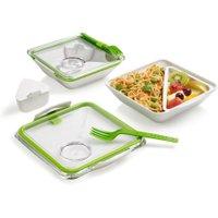 Lunchbox unterteilt & auslaufsicher für Erwachsene & Schulkinder