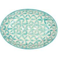 Tranquillo Seifenschale aus Keramik im attraktiven Retro Design