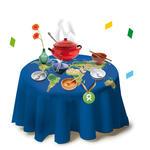 Gedeckter Tisch: Birthday