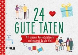 24 gute Taten: Mit diesem Adventskalender verbesserst du die Welt - 1