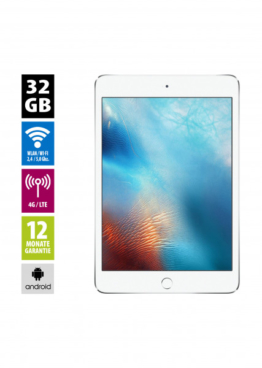 Apple iPad mini 4 Wi-Fi + Cellular (32GB) - Silver
