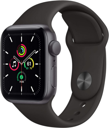 Apple Watch SE (GPS) 40 mm - OLED - Touchscreen - 32 GB - Space Gray