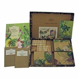 Bio-Saatgut-Adventskalender 2020 - Gemüse-, Kräuter- und Blumen-Raritäten mit Geschichte - befüllt mit 24 Bio-Samentütchen in schönem Design - 1
