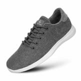 GIESSWEIN Merino Wool Knit Men - Atmungsaktive Sneaker für Herren aus 100% Merino Wolle, Sportliche Barfußschuhe, Freizeitschuh, Herrenschuhe, Schuhe - 1