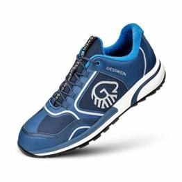 GIESSWEIN Sport-Schuh Wool Cross X Women - Rutschfester Merino Sneaker für Damen, Freizeitschuhe mit 100% Merinowolle, Reflektierende Outdoor-Schuhe mit Micro-Grip Sohle - 1