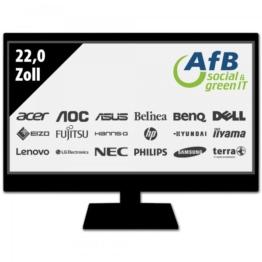 Monitor - 22,0 Zoll - WSXGA+ (1680x1050) - schwarz
