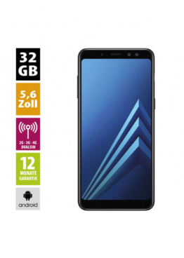 Samsung Galaxy A8 Duos 2018 (32GB) - Black