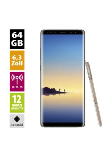 Samsung Galaxy Note 8 (64GB) - Maple Gold