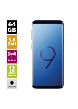 Samsung Galaxy S9 (64GB) - Midnight Black