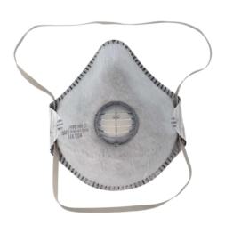 Atemschutzmaske FFP2 mit Aktivkohlefilter bei Smog & Schimmel