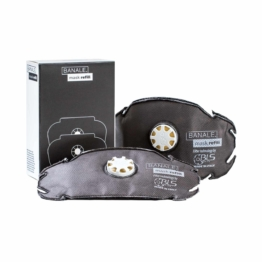 BANALE Mask - Zwei Ersatz Filter für Atemschutzmaske FFP2